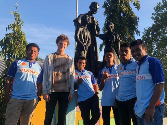 "East Timor – ""My mindset has shifted."" Young volunteer's testimony"