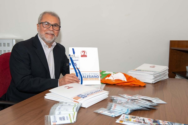 "RMG – Fr Filiberto González: ""We're talking about millions of printed magazines ... over 3 million per year"""