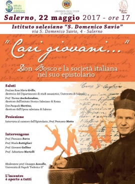 Italy - Official Launch of the Critical Edition of the Letters of Don Bosco