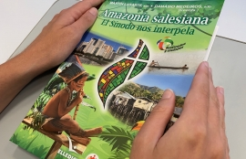 "Brazil - ""Salesian Amazon: the Synod challenges us"": a publication that unites contributions of Salesian Family from Pan-Amazon Region"