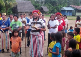 "Peru – Fr Diego Clavijo: ""It is necessary to reach the essence of the indigenous soul and revitalize the life of the people with the values of the Gospel"""