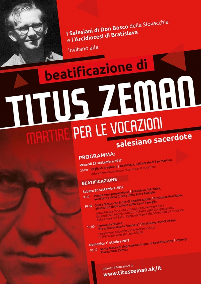 Slovakia – One month from now, the beatification of Fr Titus Zeman, martyr of communism