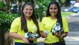 El Salvador - Don Bosco University encourages girls to study Technology