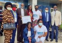Repubblica Democratica del Congo – Premio d'eccellenza a don Albert Kabuge, Ispettore AFC, per la lotta a Covid-19