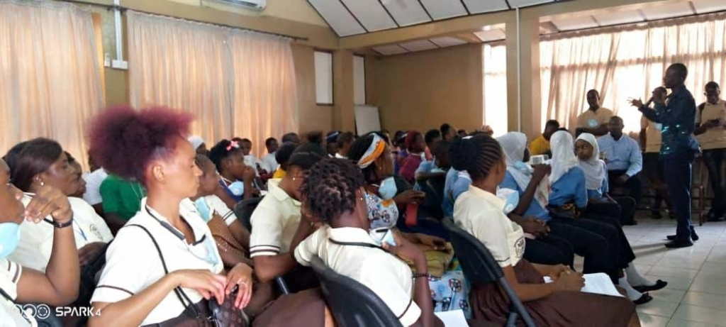 Sierra Leone - Workshop on young people's well-being and integral development