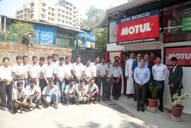India – Motul - Atlantic Lubricants & Specialties partners with Don Bosco, sets up motorcycle centre for learning