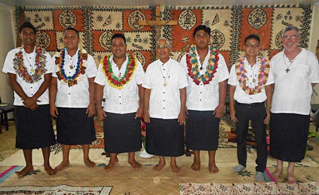 Fiji Islands - First five Salesian Professions