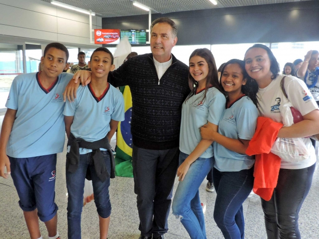 "Brazil - Rector Major at Congress on Education: ""We must practice the art of listening ... it is the heart's capacity"""