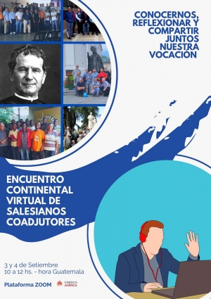 Guatemala – 1st Online Continental Meeting of Salesian Brothers of America