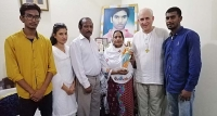 Pakistan – Akash Bashir's family receives statue of Mary Help of Christians from Rector Major