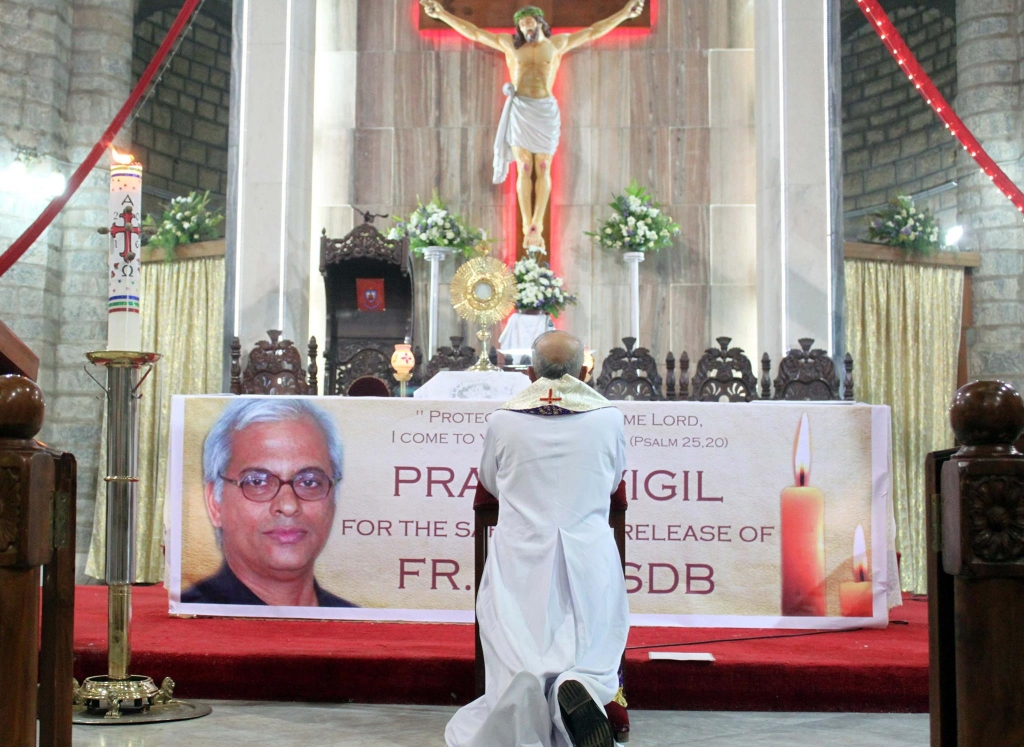 India – A Day of Prayer all over India for the Release of Fr