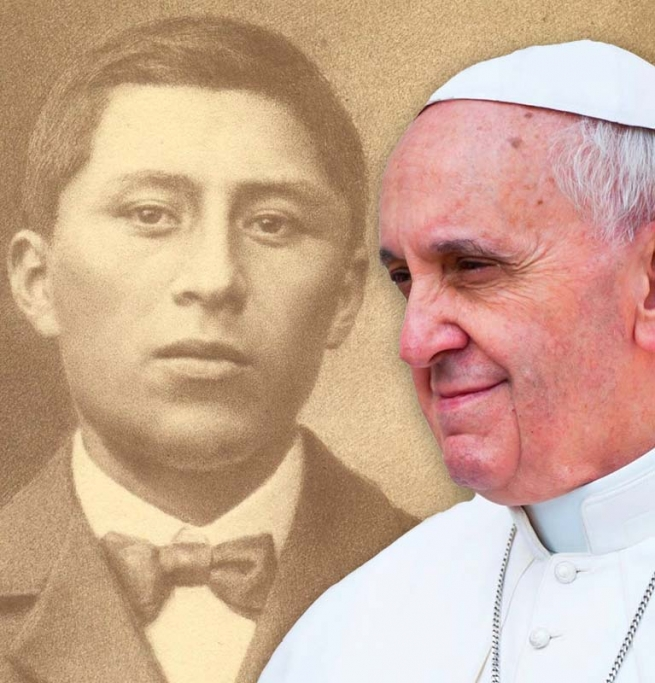Vatican - Pope Francis commemorates Ceferino Namuncura's testimony and desire to be priest
