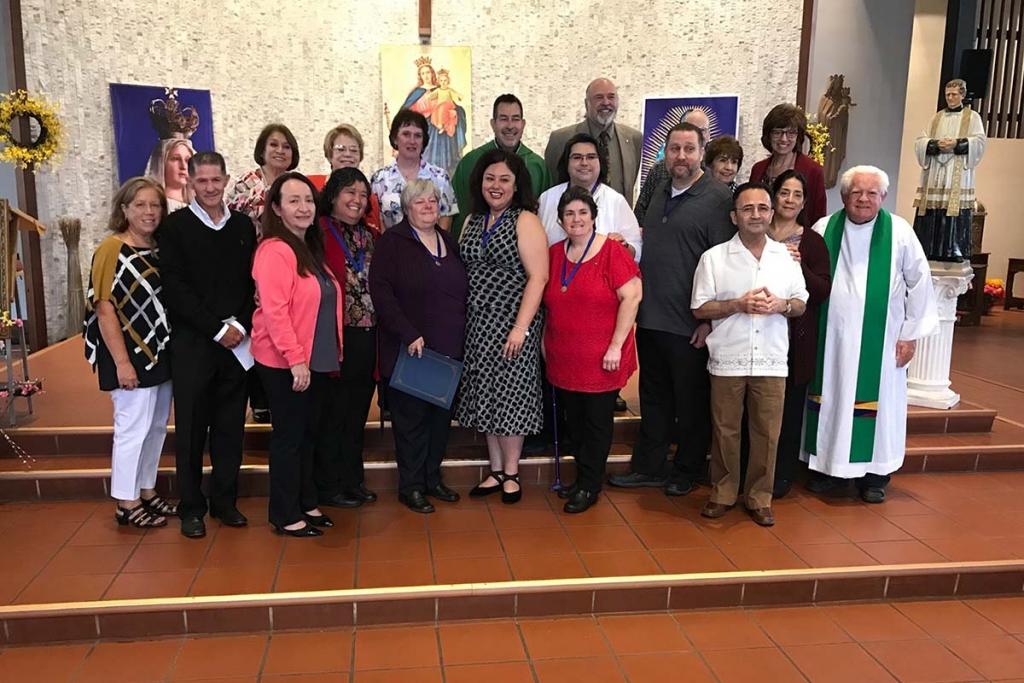 Estados Unidos - Siete nuevos miembros de la Asociación de Salesianos Cooperadores