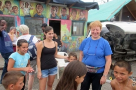 "France - A summer camp among young Roma, thanks to ""ESPERE"""