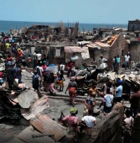 Sierra Leone – Urgent aid for hundreds of children who have lost everything in a fire