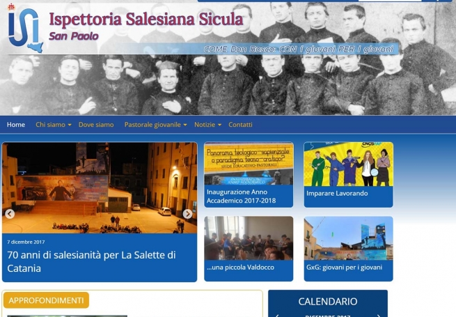 Italy – Revamped website of Italy-Sicily Province