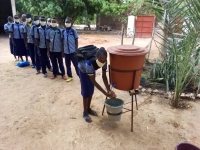 Mali – Handwashing devices installed in most vulnerable schools against spread of pandemic