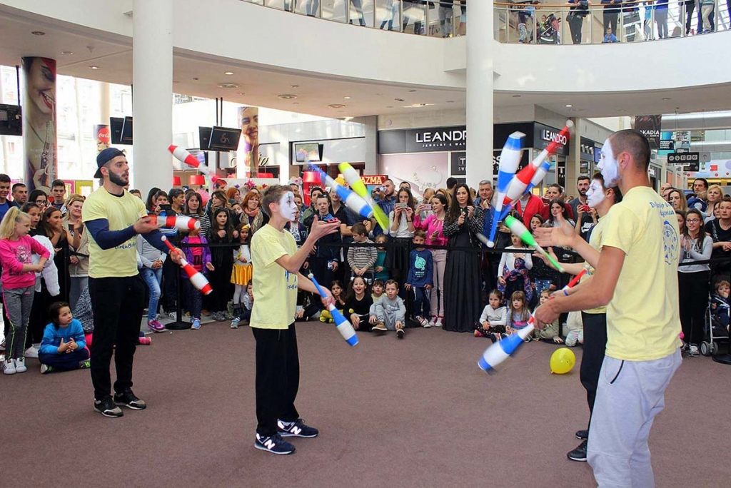 Montenegro -  Spectacular Performance of jugglers of the Don Bosco Salesian Centre