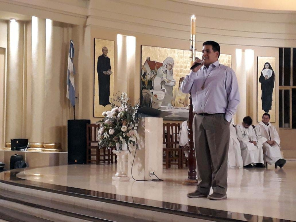 Argentina - Perpetual Profession of Salesian Coadjutor Brother Javier Abregú