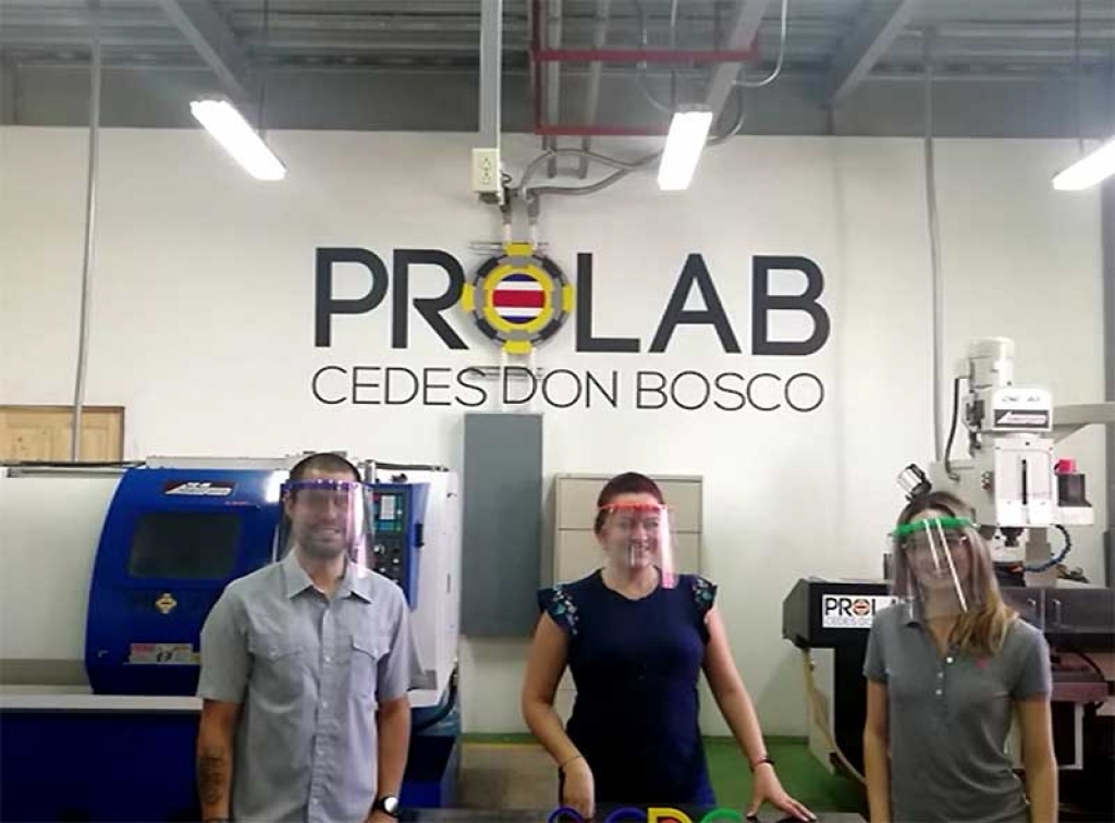 Costa Rica - CEDES Don Bosco produces certified protective devices