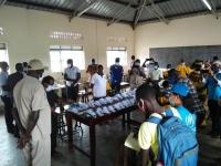 Uganda - Don Bosco Palabek pioneer in production of facial masks