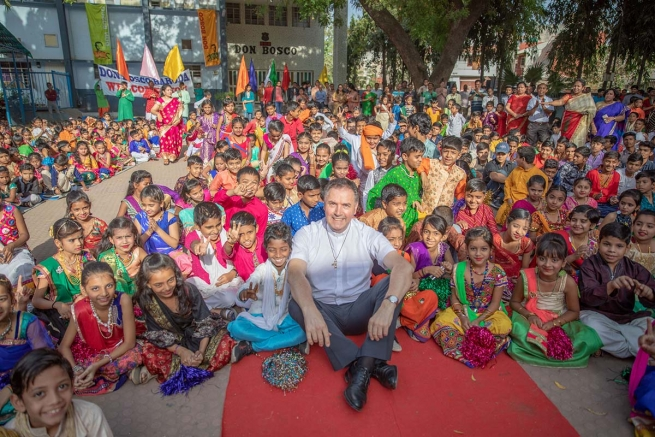 India - Rector Major concludes Animation Visit to Mumbai Province