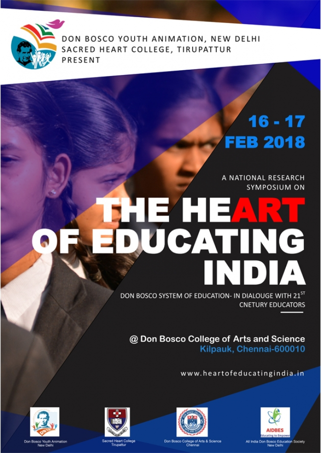 "India – National Symposium on ""The Heart of Educating"""