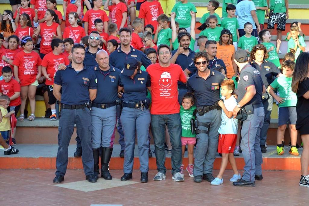 Italia – La festa della Legalità con la Polizia di Stato al Redentore di Bari