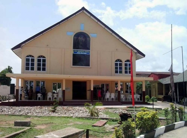 Liberia – Dedication of the Church of the Holy Innocents