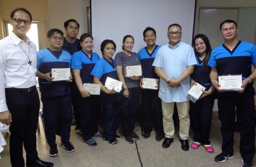 Philippines - A day of thanksgiving for medical services offered by Zatti Clinic