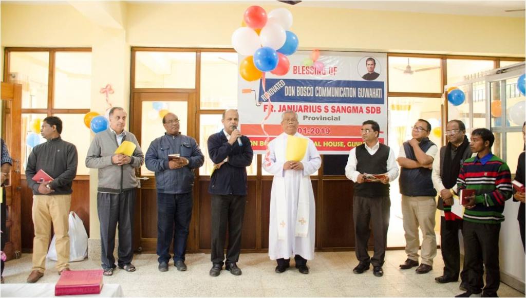 India - Communication center of Guwahati Province renewed