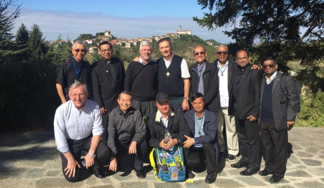 Italy - Rector Major and his Vicar, with Provincials, on Salesian Sites