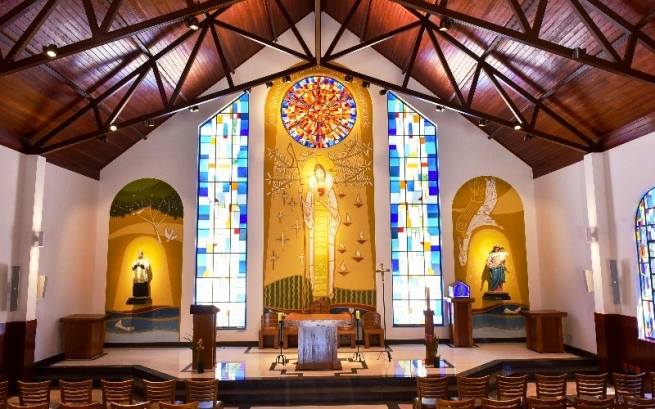 "Brazil - A new chapel in honor of ""Divine Mercy"""