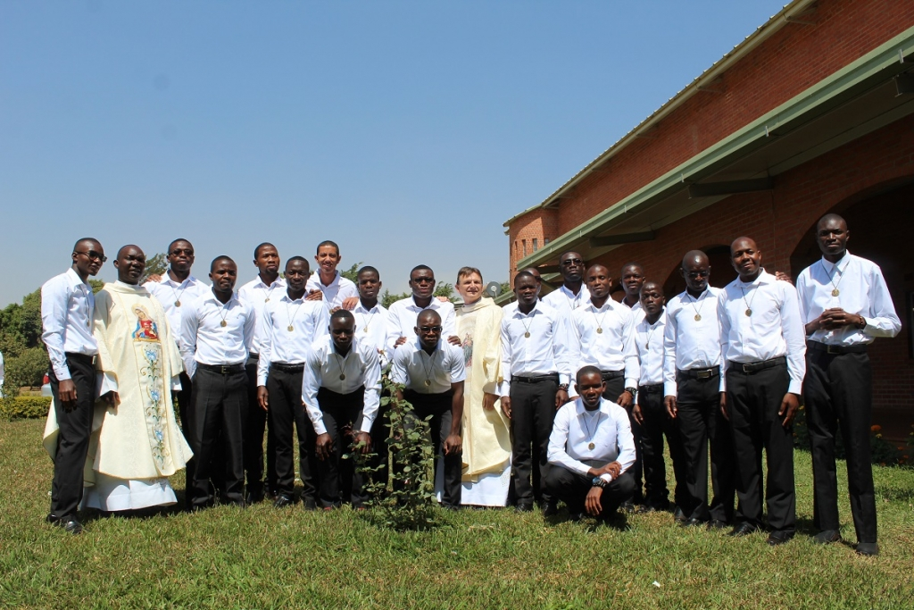 Zambia - First professions of 21 Salesians