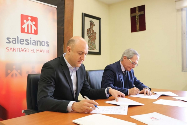 "Spain - Salesians and ""Festo"" sign national collaboration agreement for Vocational Training"