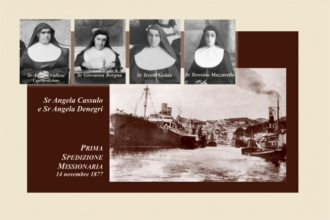 Italy - 140 years since FMA's First Missionary Expedition