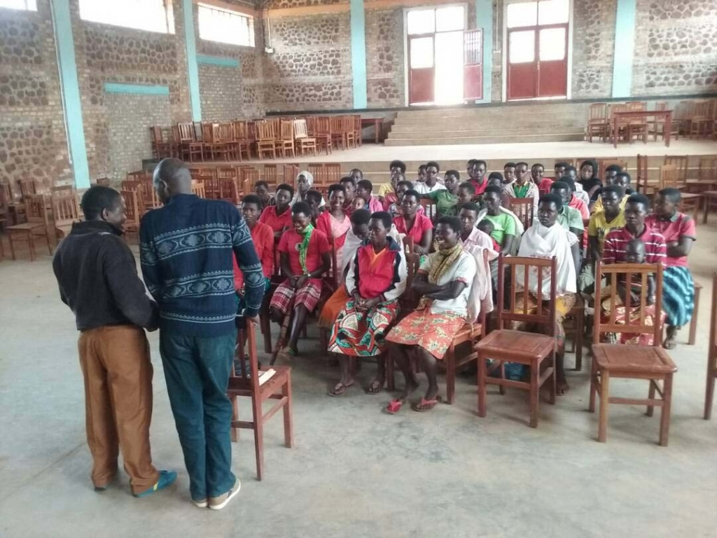Burundi – Help for education of women in Rukago region