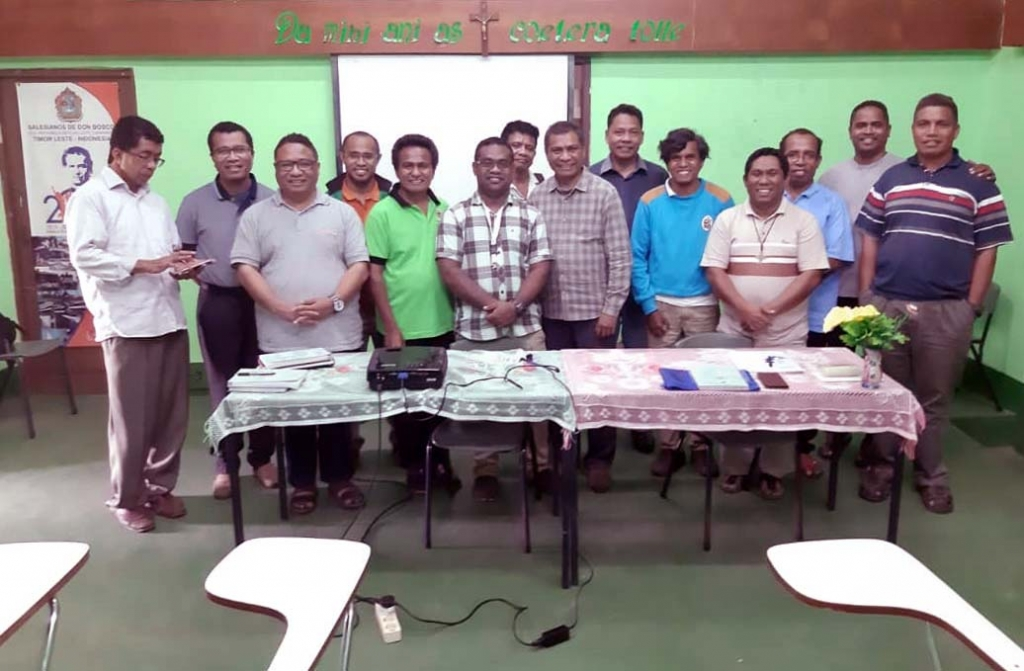 East Timor - Meeting of directors of East Timor Vice Province