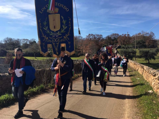 Italy - March of Peace in memory of venerable Francesco Convertini