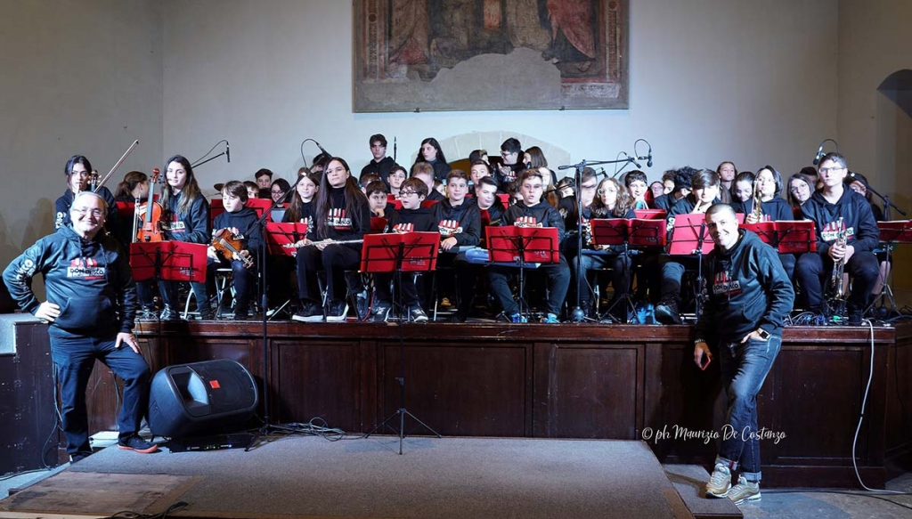 Italy - Itinerant concerts and first CD for Salesian youth orchestra of Caserta