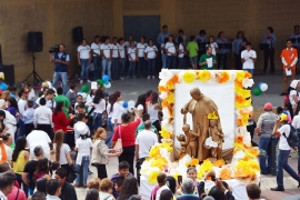 "Mexico - The ""City Don Bosco"" receives a relic of the Saint of Youth"
