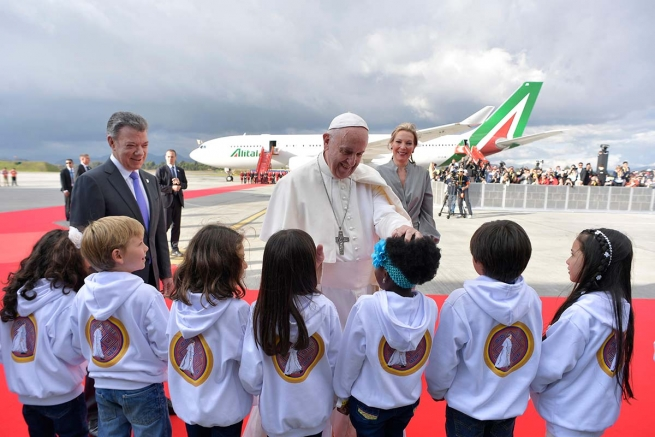 Colombia – Papa Francesco è in Colombia!