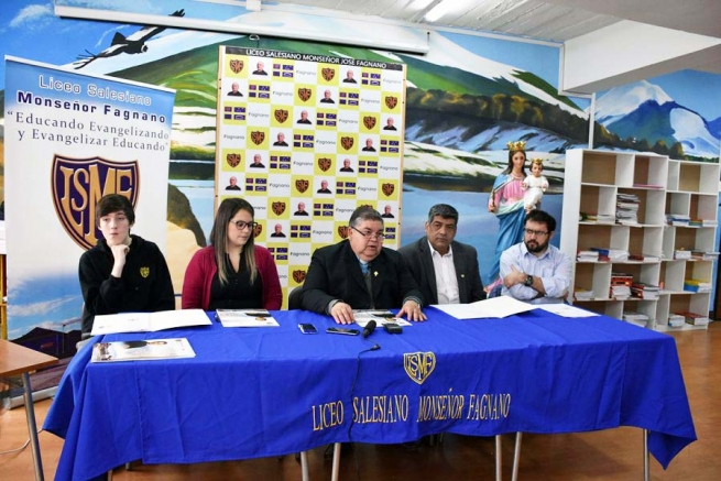 "Chile - Launch of activities for centenary of Salesian ""Monseñor Fagnano"" Secondary School"