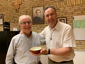 RMG – Paten that accompanied Fr Bolla for 25 years handed over to Rector Major