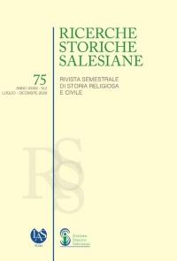 RMG - Salesian Historical Research n° 75