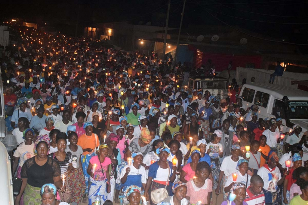 Angola – Feast of Mary Help of Christians