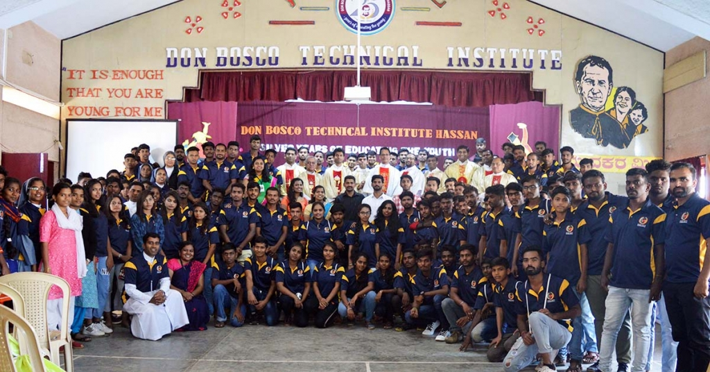 India – Feast Day of Don Bosco for Karnataka youth