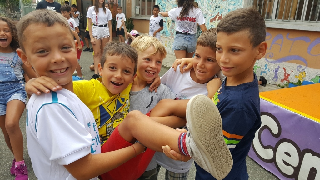Italy – Children's Summer Camp at Don Bosco Oratory in Alessandria