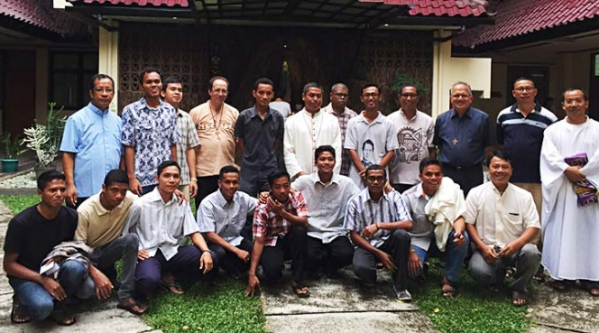Indonesia - Visit of Fr Ivo Coelho to the ITM Vice-Province
