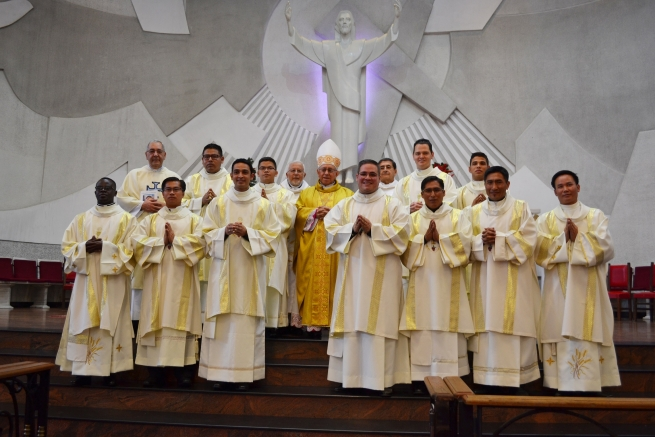 Colombia - Eleven new Salesian deacons ordained